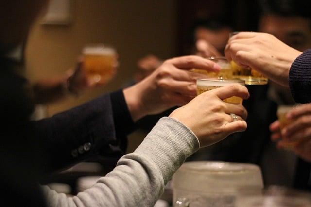 夫婦の飲み会