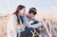 笑顔 絶えない 夫婦
