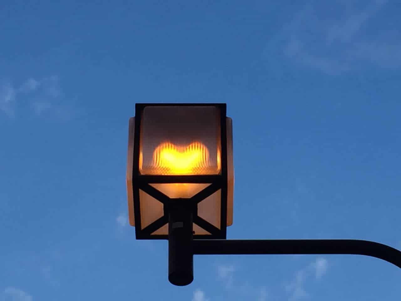 ハート型ライト